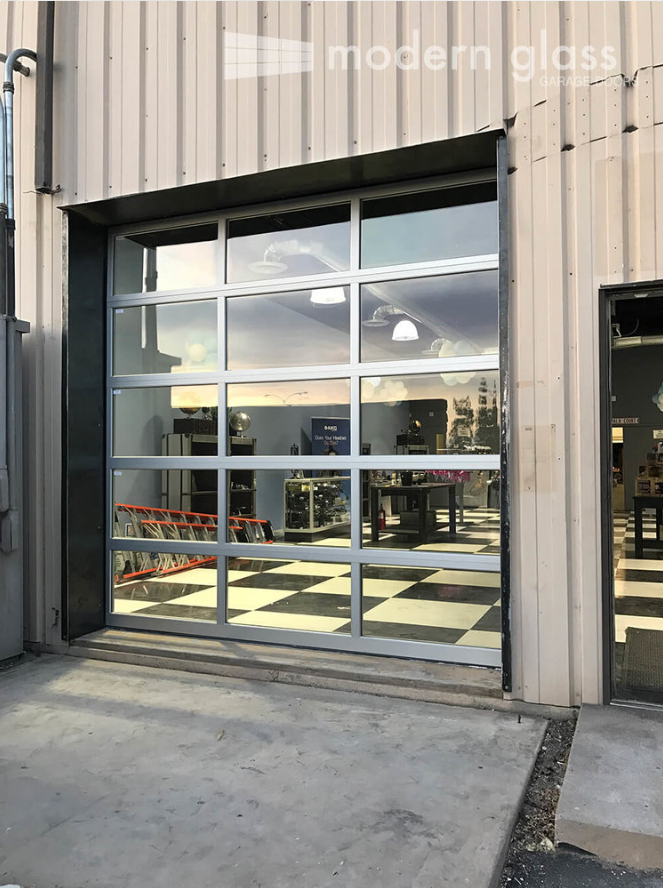 Commercial Glass Garage Doors San Fernando Valley Commercial And